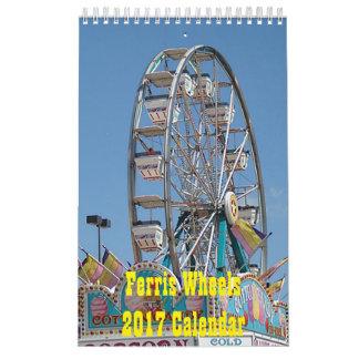 観覧車のカレンダー2017年 カレンダー