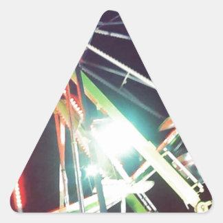 観覧車 三角形シール