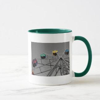 観覧車(選択的な色)のマグ マグカップ