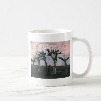角のない動物のヤナギ1883年との景色 コーヒーマグカップ