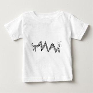角度の猫 ベビーTシャツ