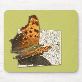 角度の翼のコンマ蝶シリーズ マウスパッド