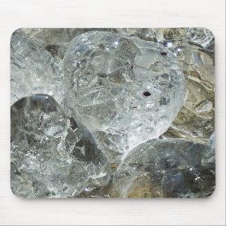 角氷の抽象美術のクリエイティブの写真撮影 マウスパッド