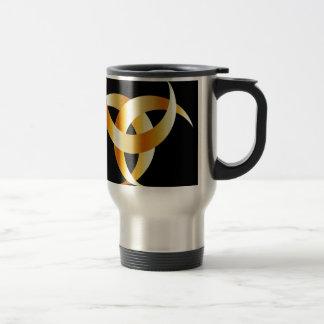 角状のTriskele- Odinの角 トラベルマグ