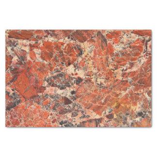 角礫化した碧玉の石パターン 薄葉紙