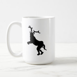 角質のヤギ コーヒーマグカップ