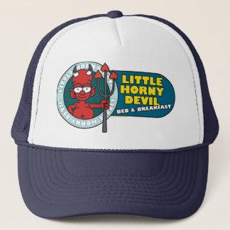 角質の小さい悪魔の帽子 キャップ