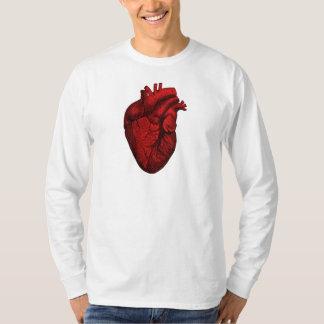 解剖人間のハート Tシャツ
