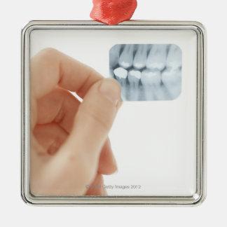 解放されるモデル。 歯科X線 メタルオーナメント