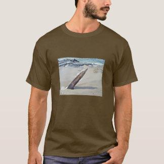 解放される流木 Tシャツ