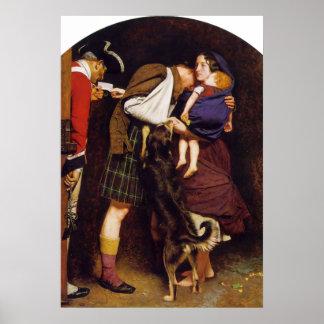 解放のジョン・エヴァレット・ミレーの発注 ポスター