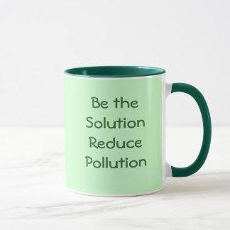 解決が減らします汚染のマグをあって下さい マグカップ
