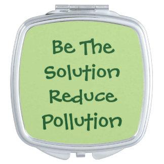 解決が減らします汚染をあって下さい