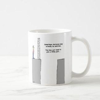 解決への障害 コーヒーマグカップ
