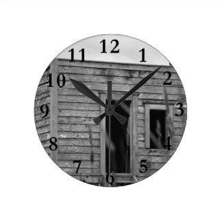 解決者の小屋のaotearoaニュージーランド ラウンド壁時計