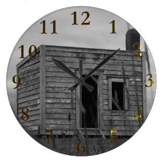 解決者の小屋のaotearoaニュージーランド ラージ壁時計