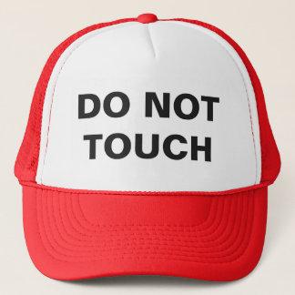 触れないで下さい キャップ
