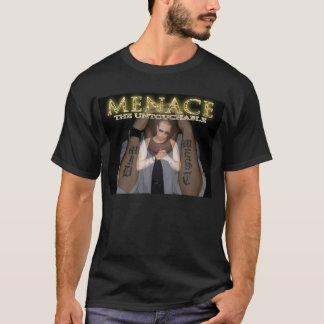 触れることができないティーを脅やかして下さい Tシャツ
