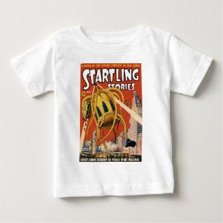 触手の宇宙船 ベビーTシャツ