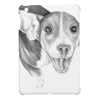 言うべき物語ビーグル犬の子犬 iPad MINIケース
