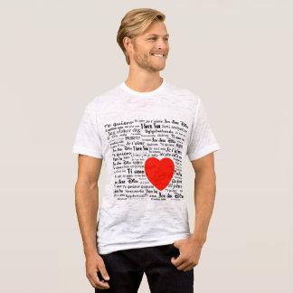 言語の愛 Tシャツ