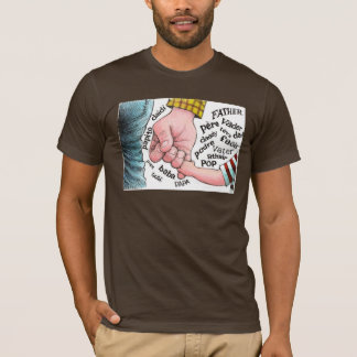 言語…パパ Tシャツ