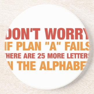 計画aが失敗すればに25のより多くの手紙があります。 コースター
