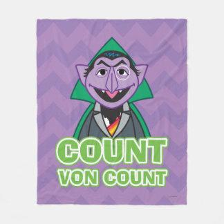 計算のフォンCount Classicのスタイル2 フリースブランケット