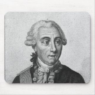 計算ルイde Marbeuf 1829年 マウスパッド