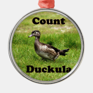 計算Duckula メタルオーナメント