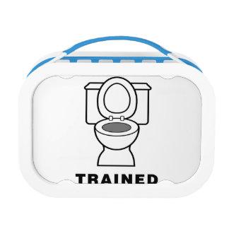 訓練される洗面所 ランチボックス