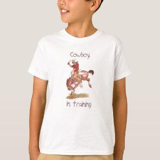 訓練のカウボーイ Tシャツ