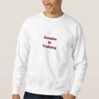 訓練のスエットシャツのゾンビ スウェットシャツ