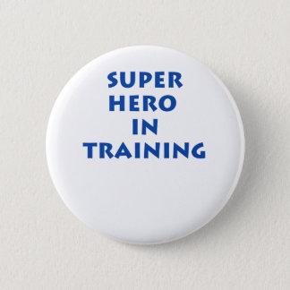 訓練のスーパーヒーロー 5.7CM 丸型バッジ