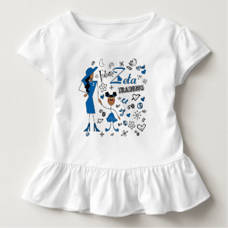 訓練のゼータのファイのベータ幼児の未来のゼータ トドラーTシャツ