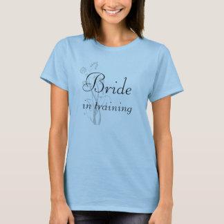 訓練のタンクトップのワイシャツの花嫁 Tシャツ