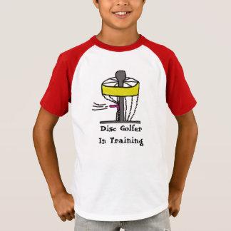 訓練のディスクゴルファーはワイシャツをからかいます Tシャツ