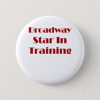 訓練のブロードウェイの星 5.7CM 丸型バッジ