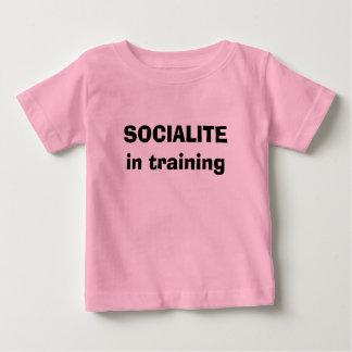訓練のベビーのワイシャツのFIRECROTCHの©の社交界の名士を団結して下さい ベビーTシャツ
