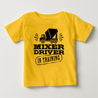 訓練のミキサーの運転者 ベビーTシャツ