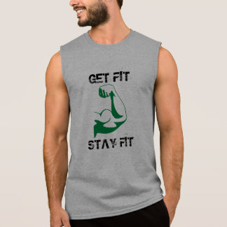 訓練のワイシャツ 袖なしシャツ