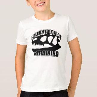 訓練の古生物学者 Tシャツ