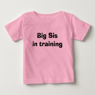 訓練の大きいSis ベビーTシャツ