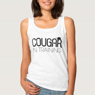 訓練の女性のワイシャツのクーガー タンクトップ