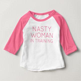 訓練の扱いにくい女性 ベビーTシャツ
