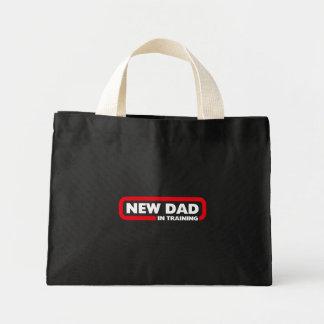 訓練の新しいパパ- 1回目の父のためのバッグ ミニトートバッグ