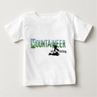 訓練の登山者 ベビーTシャツ