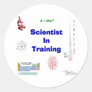訓練の科学者 ラウンドシール