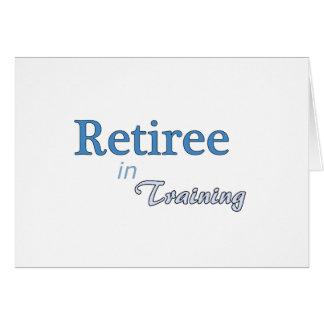訓練の退職者 カード