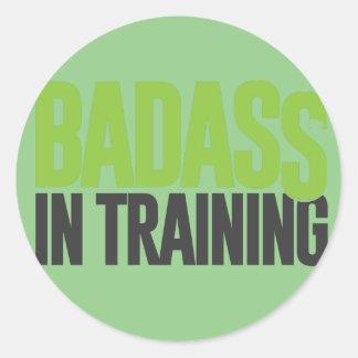 訓練のBadass ラウンドシール